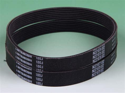V Belt B53 Mitsuboshi mitsuboshi belting rubber v ribbed belt ribstar with low friction for grinder mower etc made in