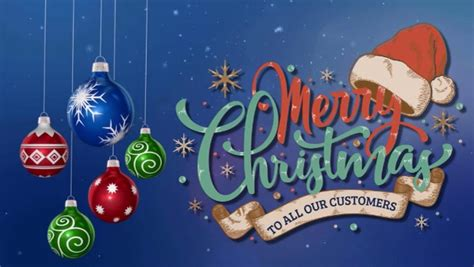 facebook merry christmas cover video template postermywall