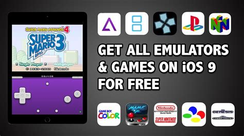 how to emulators for iphone ios 9 no jailbreak gba nds psp and n64