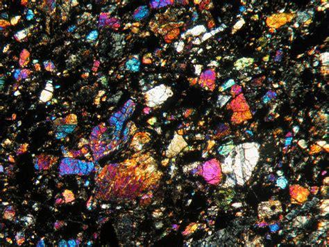 basalt thin section nwa 773 lunar basalt breccia olivine gabbro