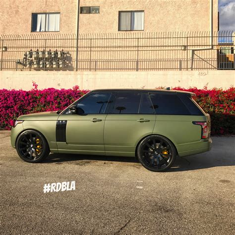 Rdbla Matte Army Green Range Rover Rdb La Five