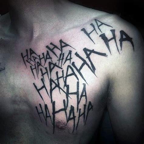 tattoo joker chest the 10 best joker tattoo designs