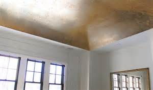 gold leaf ceiling space and such