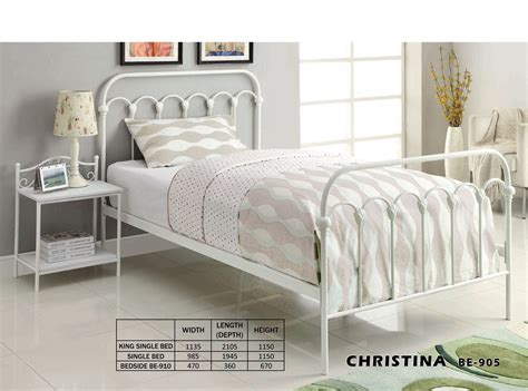 Iron Single Bed Frame Wrought Iron King Single Bed Frame Bed Frames Ideas