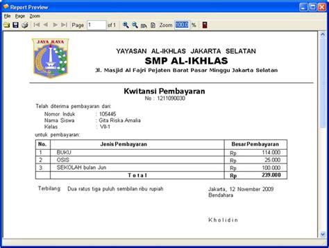contoh invoice hotel di jakarta contoh sur
