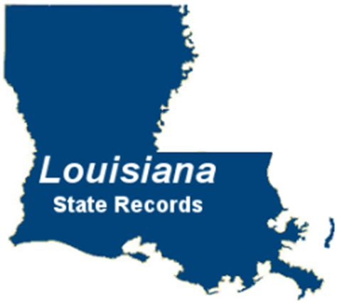 State Of Arrest Records Louisiana Criminal Records