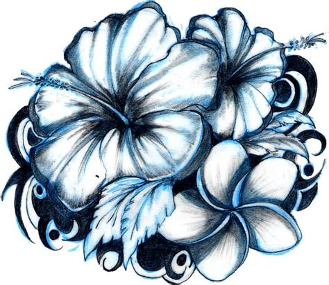 white flower tattoo designs 30 hibiscus black and white tattoos