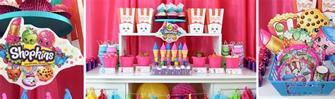 Shopkins party supplies girls birthday ideas amp party supplies