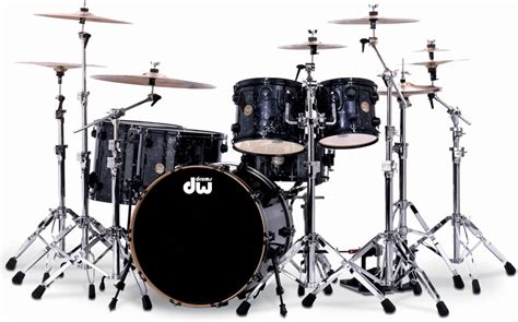 imagenes baterias musicales dw collector s series black velvet finishply with black