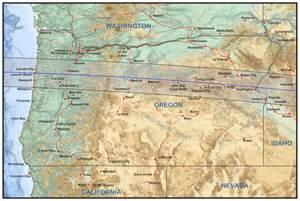 map of oregon total eclipse oregon eclipsophile