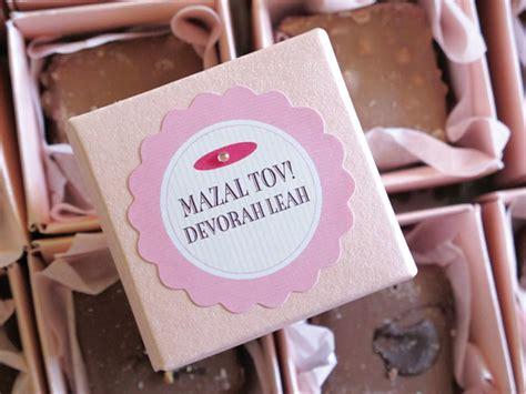 Bat Mitzvah Giveaway Ideas - devorah s bat mitzvah gift favor ideas from evermine