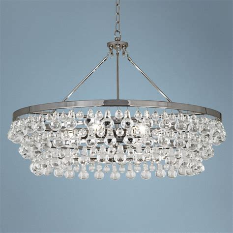 robert bling chandelier robert bling collection large nickel chandelier