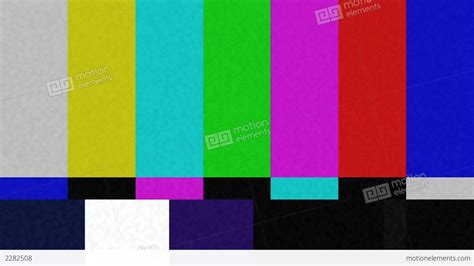 test pattern full hd color bar test pattern stock video footage 2282508