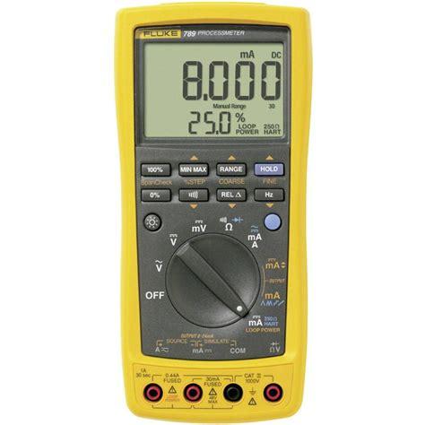 Multimeter Fluke 789 Handheld Multimeter Digital Fluke 789 Eur Calibrated To Manufacturer S Standards No