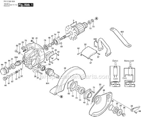 Skil Hd5860 Parts List And Diagram F01258600a