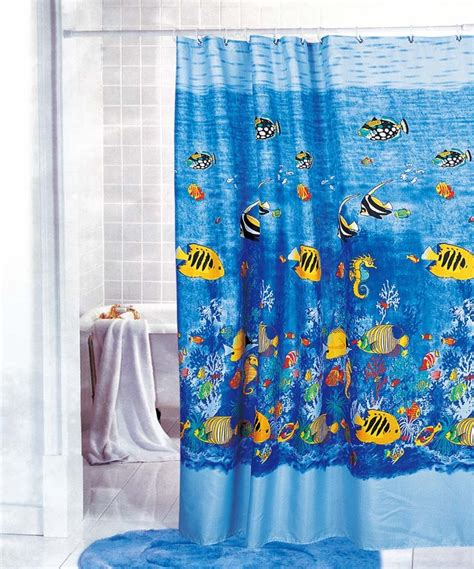 shower curtains for kids gorgeous tropical fish fabric shower curtain y2708 ebay