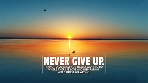 never give up never give up quotes wallpaper quotesgram