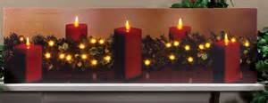 pictures with flickering candle light