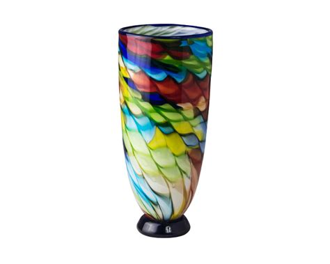 Coloured Glass Vases by Coloured Glass Vases Olympia Gifts