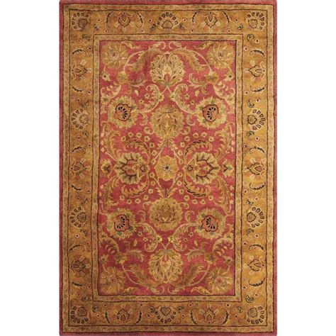 Burgundy Area Rugs 8 X 10 Shop Nourison Jaipur Burgundy Rectangular Indoor Handcrafted Area Rug Common 8 X 10 Actual 7