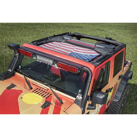 american flag jeep rugged ridge 13579 14 eclipse sun shade american flag
