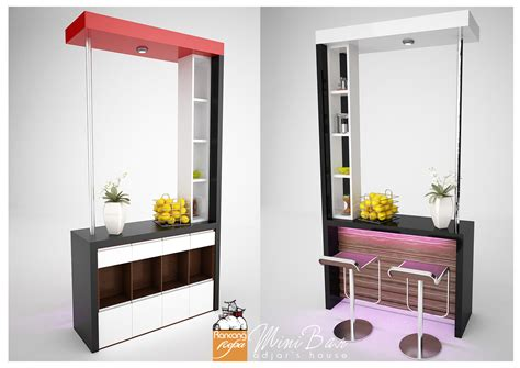 mini bar  apartments  house designs small room