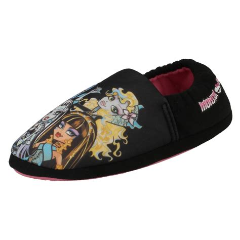 monster house shoes girls monster high house slippers ebay