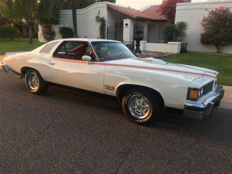 very rare muscle car 1977 pontiac can am auto