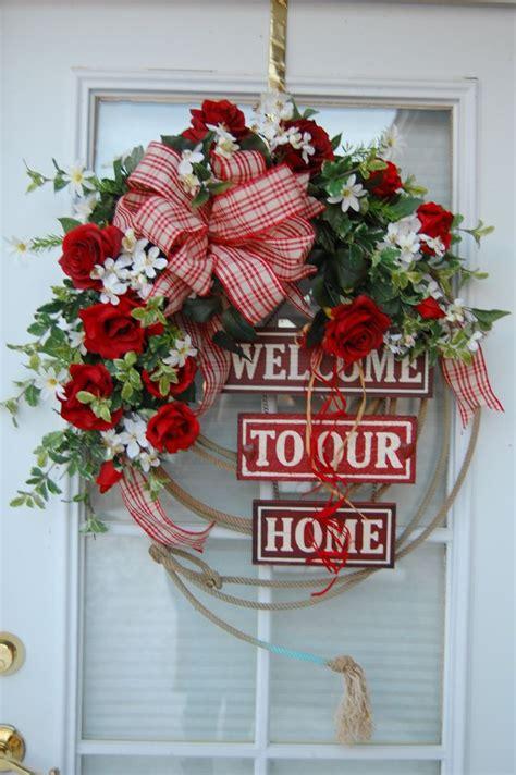 images   door  wreath ideas