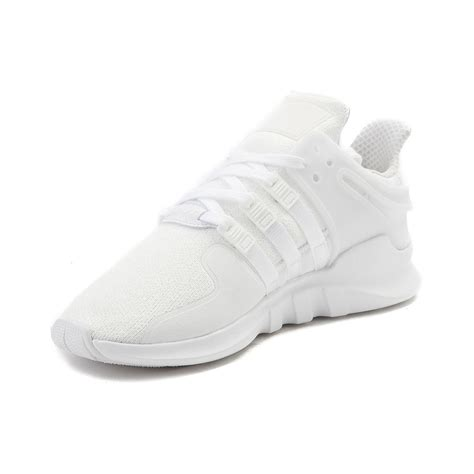 supportive athletic shoes mens adidas eqt support adv athletic shoe white 436351