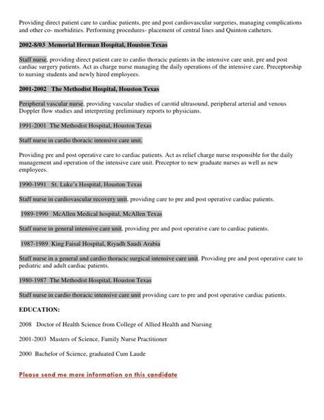 ccrn resume icu rn bsn ccrn resume exle st hospital