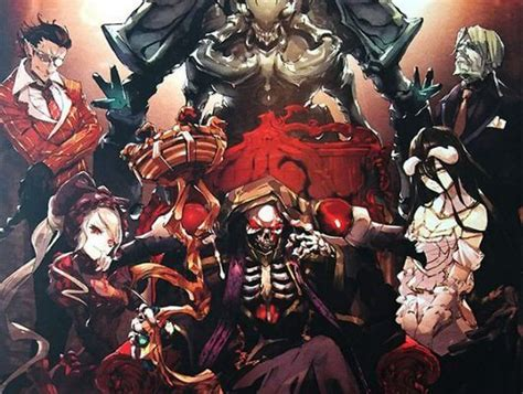 overlord characters roster behold  army  nazarick