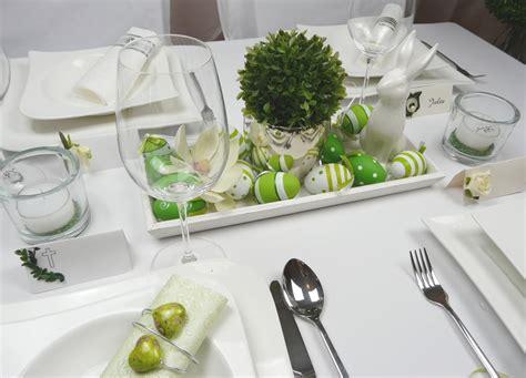 etagere grün tischdeko geburtstag ostern execid