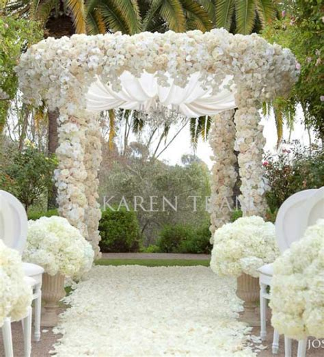 Wedding Garden Outdoor Ceremony Aisle Decorations Archives Weddings