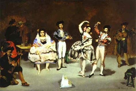 manet usa the spanish ballet edouard manet wikiart org encyclopedia of visual arts