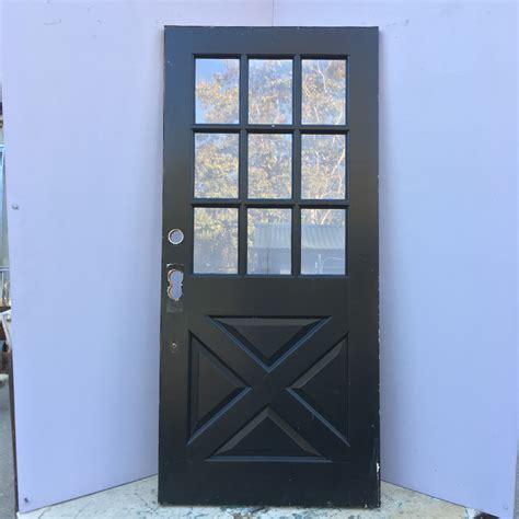 Crossbuck Exterior Door Crossbuck Entry Door 9 Lite Cross Buck Entry Door Sold