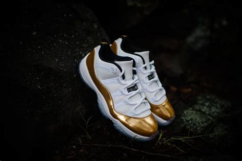 gold jordan wallpaper more images of the jordan 11 white gold upcoming sneaker