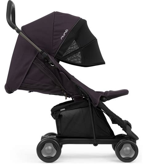 Sale Stroller Nuna Pepp Blackberry nuna pepp stroller with drape blackberry