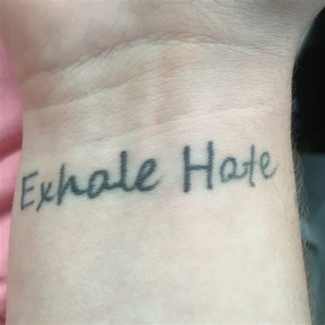 atom age tattoo the fade of the as well as the messed up word quot
