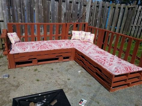 pallet corner sofa pallet corner sofa plans pallet wood projects