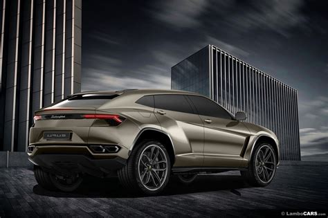 Lamborghini Urus 6x6 And Production Model Rendered