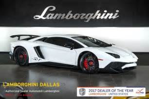 Lamborghini Lowest Price 13 Lamborghini Aventador Sv For Sale Dupont Registry