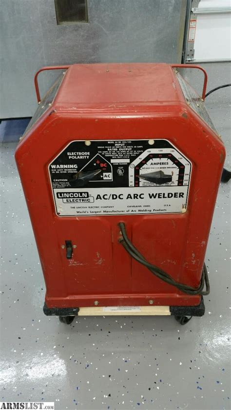 used lincoln welder for sale armslist for sale lincoln ac dc arc stick welder for sale