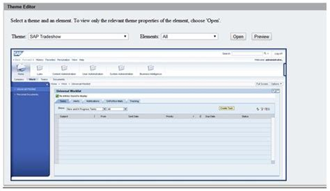 sap theme editor download enterprise portal administration and support sap blogs