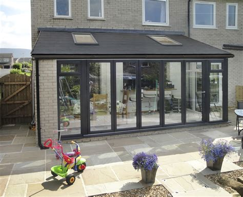 gabled conservatory extension kitchen extensions housetohome co uk image result for narrow lean to conservatory with bifold