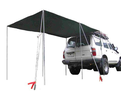 tigerz11 wing awning awning for 4wd 4wd awning 2 5m x 2 5m toughland www