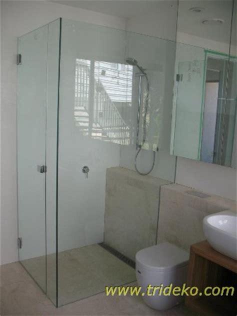 Tempered Glass Untuk Kamar Mandi partisi aluminium kaca partisi kaca frameless kanopi