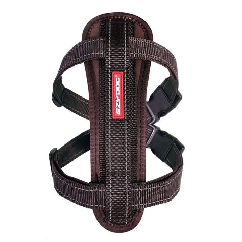 simply comfortable dog harness chest plate dog harness chocolate small on sale
