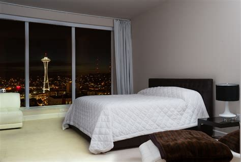Downtown Seattle Luxury View Condo Contemporary Bedroom Furniture Cbelltown
