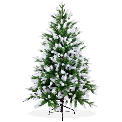 k 252 nstlicher weihnachtsbaum 150cm pe spritzguss beschneiter